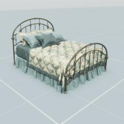 Antique Bed 2.2