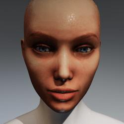 Melody Head with wet skin for Kismet Body by Apocalypse Bunnies