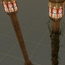 Cathedral Pillar Set