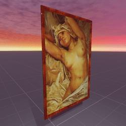 Nude Oil on Canvas 1903 Alphonse Mucha