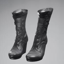 Vinx's High Heel Boots Leather