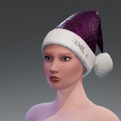 CHRISTMAS HAT VIOLET
