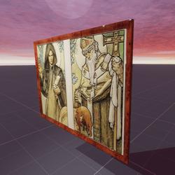 Stained Glass Design Alphonse Mucha