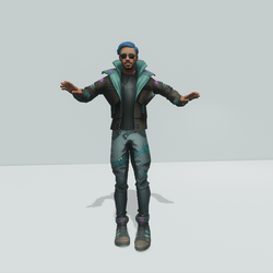 TKA Cyberpunk NPC Animated