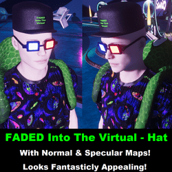 Faded Into The Virtual: Hat