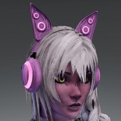 Anubis headphones PNK