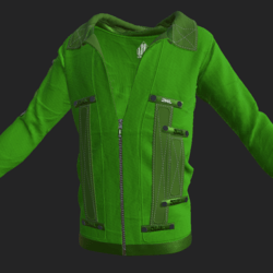 SHUAN JACKET EMISSIVE LIGHT GREEN