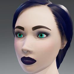 X - Alina - Violet Avatar