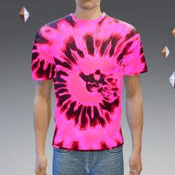 Fusion Glowing Tie-Dye T-Shirt - Male