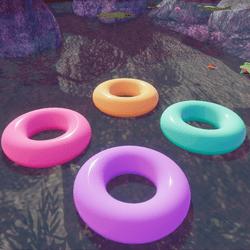 Inner Tube Floats (Animated)