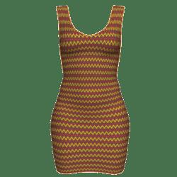 Woman Simple Dress - Wavy