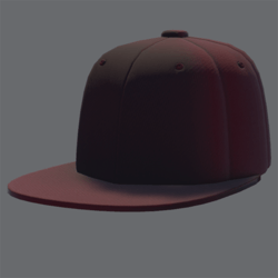 DemiGod Cap Red [MALE]
