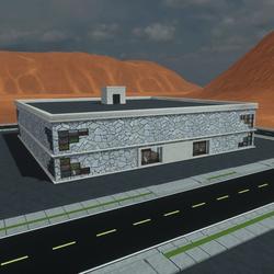 TKA Gallery building V2 Walls-doors-elevator