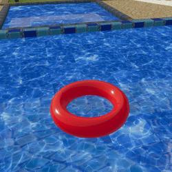 Pool Tube B Animated Rotating