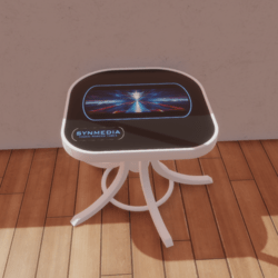 Touch Screen Table (Black Top)