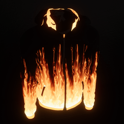 Fire Hoodie-Emissive