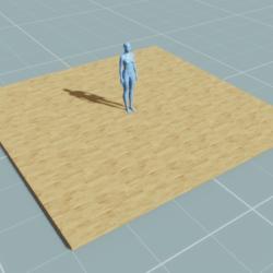 Block - Floor (6m, 6m, 0.1m)
