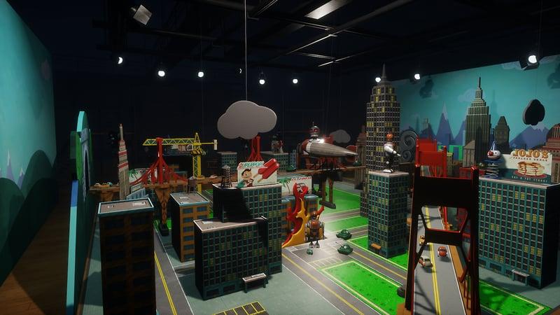 Toppleton Toy Town