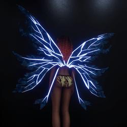 Iced Wings-Emissive Veins