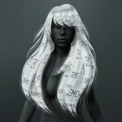Amber Hair - White (Demo)