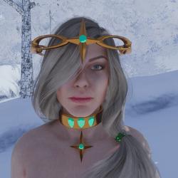 Celestial North Star Tiara 01