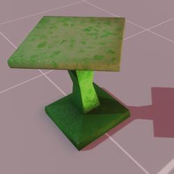 Astra stool green