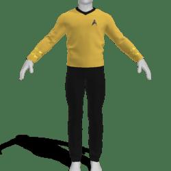 AV2 - Vintage Star Trek Suit Gold