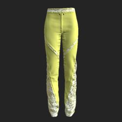 Fran pants yellow