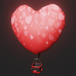 Hot-air Balloon Heart