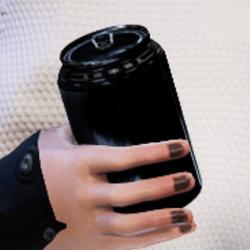 Bottle A in arm