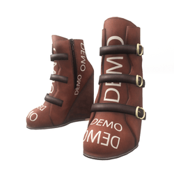 "Wedge boots for ""Alina Daisy"" and ""Nicci"" avatar - demo"