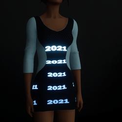 2021 Emissive Dress