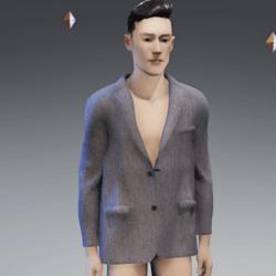 Men's Suit Jacket light gray