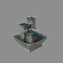 Sea salt fountain