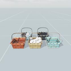 Wire Hand Baskets