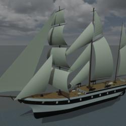 Italian school ship Palinuro