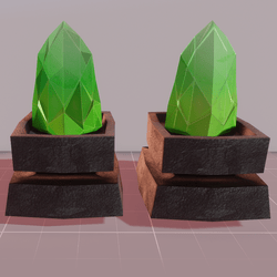 MMO Lime Crystals