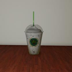 Cloverbucks Cookies and Cream  Frappuccino