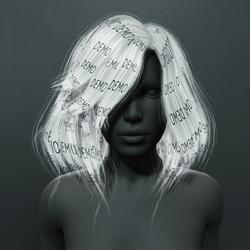 Kelsey Hair - White (Demo)