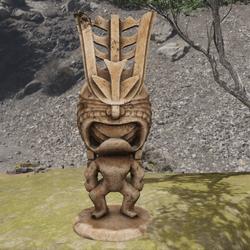 TKA LF Tiki Statue Wood