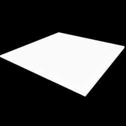 Board - White - Collision Mesh - 1cmx1Mx1M