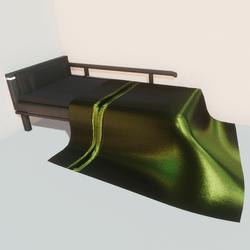 Modern bed - lm