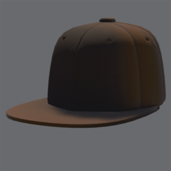 DemiGod Cap Orange [FEMALE]