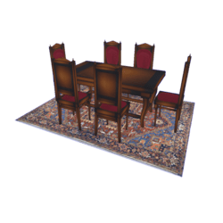 Diner Table Set (No table cloth)