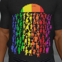 Pride Crowd T-Shirt M