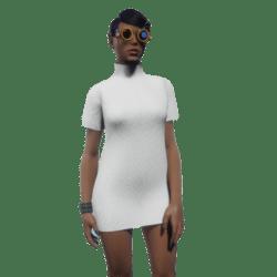 Tube Dress White
