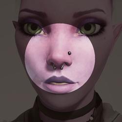 Vinx's Nose Piercing