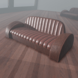 Deco Couch 2