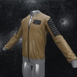 Leather Jacket Ron brown black