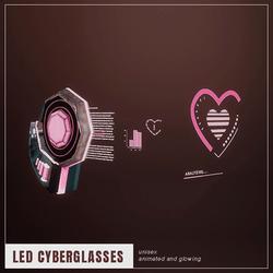 [LED/Punch] Cyberglasses